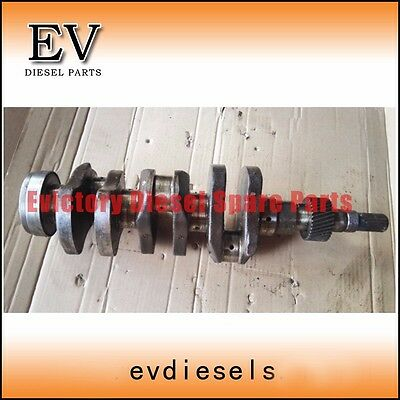 Genuine Steel D1402 D1403 Crankshaft For Kubota Tractor