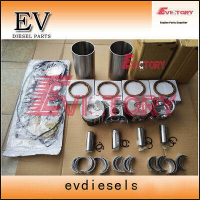Rebuild Kit 4tne88 4d88e Piston+ring+liner+gasket+bearing+valve+water Oil Pump