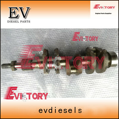Steel D1503 Crankshaft For Kubota U35 Excavator
