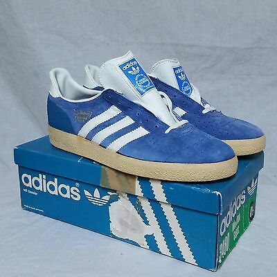 Vtg Adidas Munchen Super Shoes 70s Tennis West Germany Trainers 80s Original 8.5