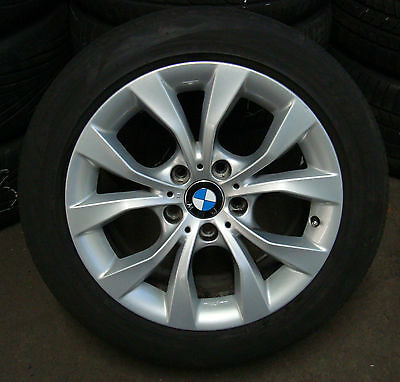 4 Bmw Complete Wheels Styling 318 Summer X1 E84 225/50 R17 94h Alloy New