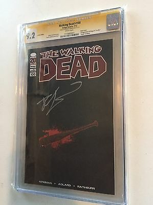 Walking Dead #100 Lucille Edition Cgc 9.2 Ss (kirkman) 1st Negan And Lucille