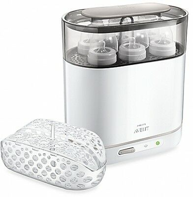 Philips Avent 4--in-1 Electric Steam Sterilizer Bottle Baby Bottles Cleaning