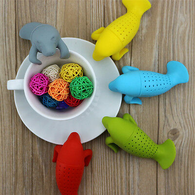 Чай Infusers 1pc Silicone Manatee Shape