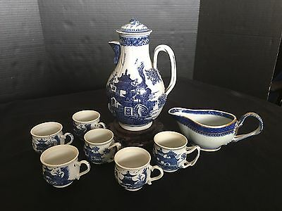 A Set Of Eight Chinese Tea/coffee Pots Of 18th/19th Century