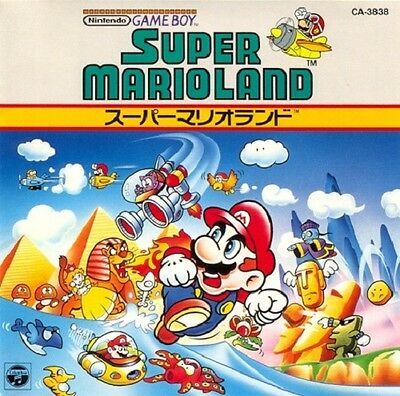 Super Mario Land Original Soundtrack Cd Ost Gameboy