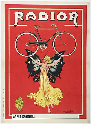Radior - Original Vintage Bicycle Poster - Cycling - Vavasseur