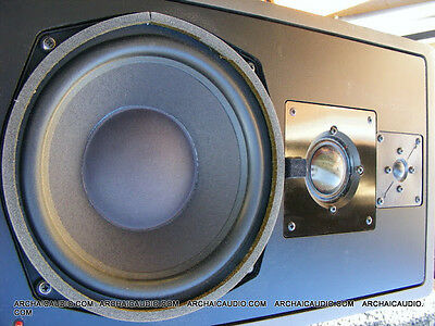 Pair Klein & Hummel Powered Studio Monitor Speakers Model 096