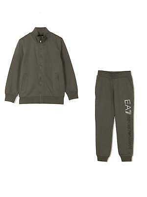 Разное EA7 Junior Dark Grey Tracksuit