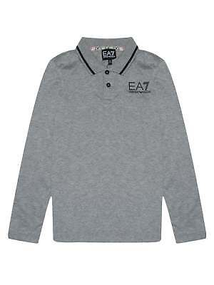 Разное EA7 Junior Grey Long Sleeve