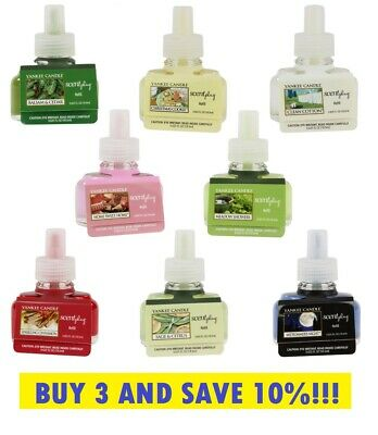 ☆☆yankee Candle Scent Plug Electric Refills☆you Choose☆☆free Fast Shipping