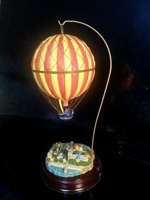 Skybound Memories Of Paris By Harbour Lights Hot Air Balloon Collectible