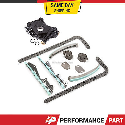 Timing Chain Kit W/o Gears Oil Pump For 97-04 Ford Explorer E150 F150 4.6