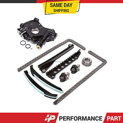 Timing Chain Kit Oil Pump For 04-10 Ford F150 F250 Lincoln Triton 5.4 3-valve