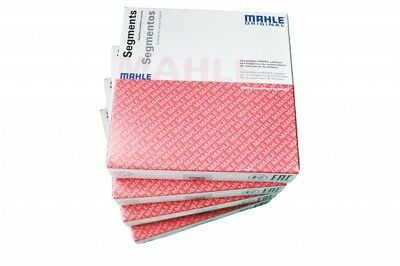 Piston Rings Set For 4 Cylinders Mahle 015 01 N0-4