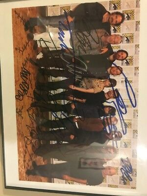 Sons Of Anarchy Autograph Cast Coa