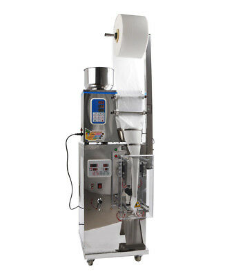 1-500g Powder Particle Filling Machine For Tea 3-side Seal(max Size:15*22cm W*l)