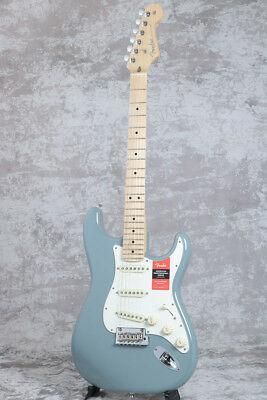 new fender usa american professional stratocaster sonic gray maple guitar