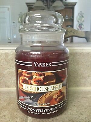 Yankee Candle 22 Oz: Black Label Farmhouse Apple