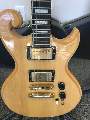70s epiphone scroll sc 550 electric guitar  summer sale priced