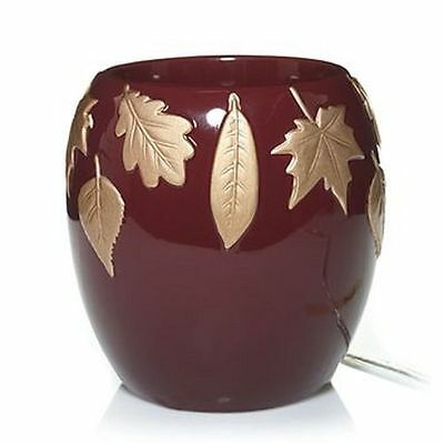 Yankee Candle Scenterpiece Warmer Ruby Foilage Meltcup System Nib Rare