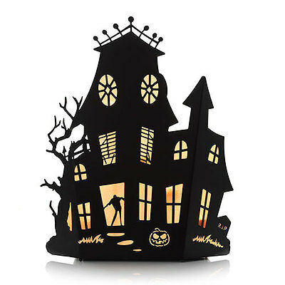 Yankee Candle Haunted House Multi Tea Light Candle Holder  Nib