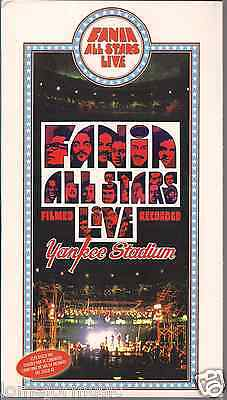 Ultra Rare Fania All Stars Yankee Stadium Live 2cd+colorposter English