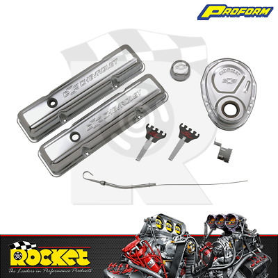 Proform Engine Dress Up Kit W/ Timing Cover (small Block Chev) - Pr141-001