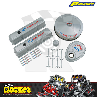 Proform Engine Dress Up Kit W/ Timing Cover (small Block Chev) - Pr141-360