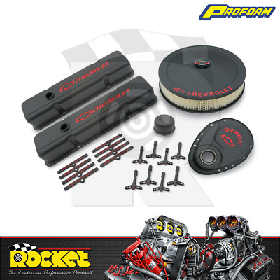 Proform Engine Dress Up Kit W/ Timing Cover (small Block Chev) - Pr141-758