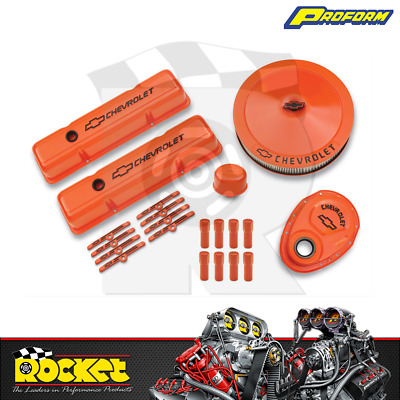 Proform Engine Dress Up Kit W/ Timing Cover (small Block Chev) - Pr141-780