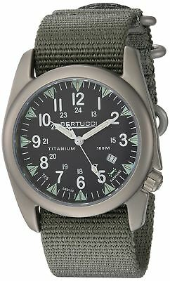Bertucci A-4t Yankee Illuminated Watch Black/ti-def Drab Band 13410
