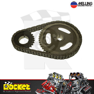 Melling Double Row Timing Chain Set For Ford 302-351c - Me40405
