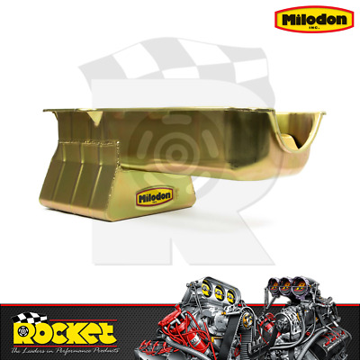 Milodon Oil Pan (small Block Chev 86-up W/ Rh Dipstick) - Mi30909