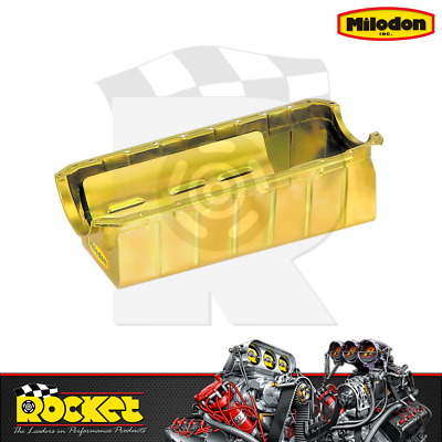 Milodon Drag Racing Oil Pan (big Block Chev Mk4) - Mi31176