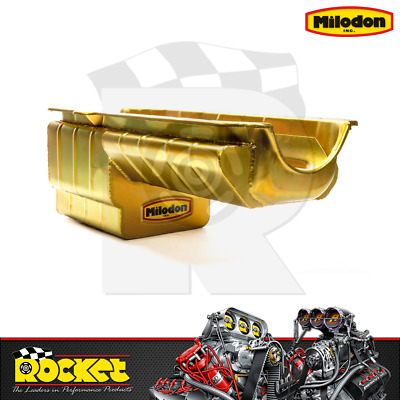 Milodon Drag Racing Oil Pan (big Block Chev Mk4) - Mi31187