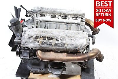 94-02 Mercedes R129 Sl500 E500 S500 Complete Engine Motor Block Assembly A37 Oem