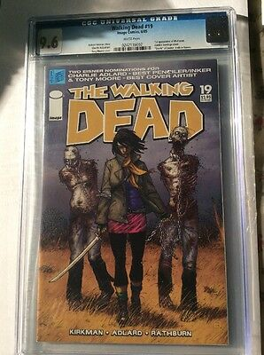 Walking Dead Comic # 19  Cgc Graded 9.6 - Michonne  1st Appearance