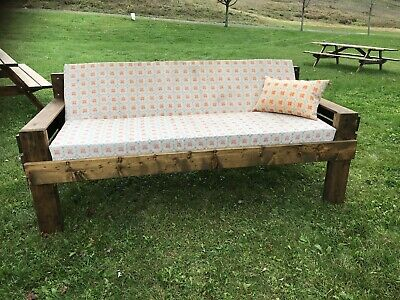 outdoor furniture bench handmade canadian wood day bed