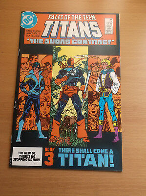 Dc: Tales Of The Teen Titans #44, 1st Nightwing/jericho, 1984, Vf/nm (9.0)!!!