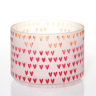 Yankee Candle Dreaming Of Love  Hearts Jar Candle Barrel Shade Brand New In Box