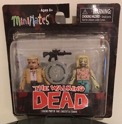 Walking Dead Minimates Tru Series 5 Eugene Porter Emaciated Zombie Exclusive