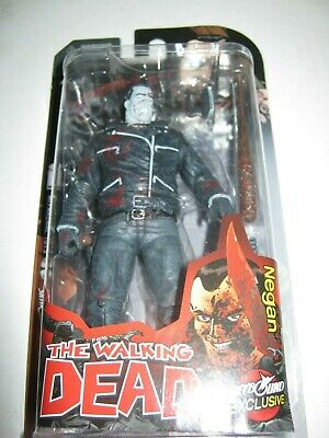 Sdcc 2014skybound The Walking Dead Negan Set B&w Bloody Actionfigure Kirkman Amc