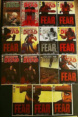 The Walking Dead 93,94,95,96,97,98,99,100 2nd,100 Variant!1st Negan! Outcast #1