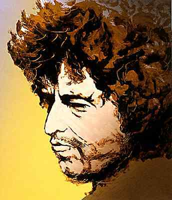 Bob Dylan Rolling Stones Ronnie Wood Art Sold Out Low # 6 1/2 Price The Beatles