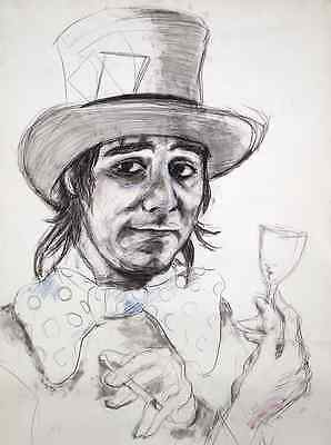 Keith Moonthe Who Rolling Stones Ronnie Wood Art Sold Out Hand Signed Print