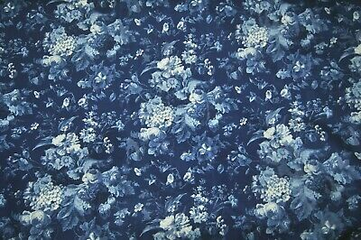 """vintage ralph lauren isadora floral upholstery fabric drapery curtains 11yrd 25"""""""