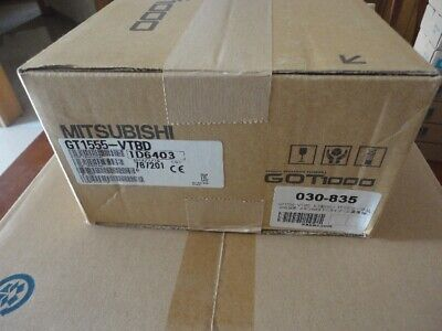 Mitsubishi Gt1555-vtbd Touch Panel New In Box Gt1555vtbd Hmi Expedited Shipping