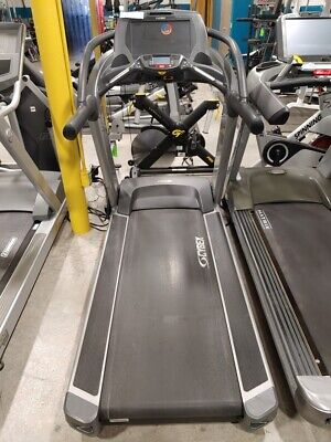 Used Cybex Fitness 770t Commercial Running Walking Treadmill Touch Screen Hr