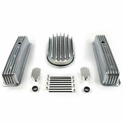 Sbc 12 Deep Oval/tall Center Bolt Engine Dress Up Kit~w/ Breathers (no Pcv) Rat